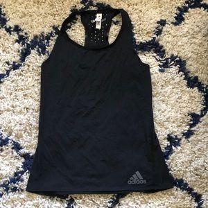 Adidas black sports tops size XS